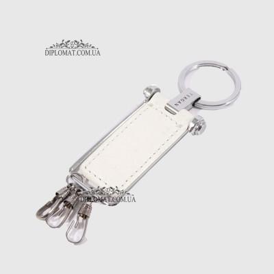 Брелок кожаный для ключей TERGAN 0241 WHITE ARSEL