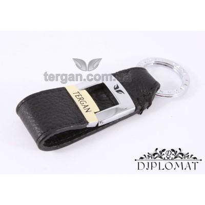 Брелок кожаный для ключей TERGAN 0242 SIYAH FLOATER Черный