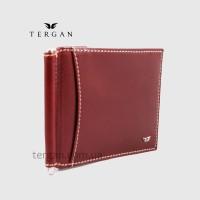 Зажим для денег TERGAN 1399 Кожаный 6 отделений для карт Без отделения для мелочи 022 VEGETAL