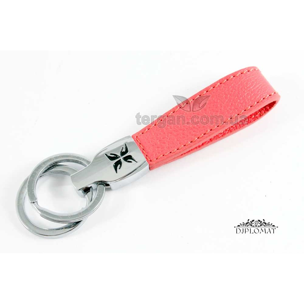 Брелок кожаный для ключей TERGAN 0248  MERCAN DANA BASKILI NAPPA