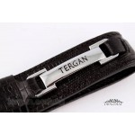 Брелок кожаный для ключей TERGAN 0243  SIYAH LAZER