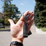 Брелок Кожаный TERGAN 0235 Два кольца KAHVE FLOATER Коричневый Коричневый